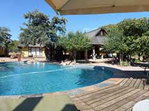 matswani elephant lodge pool